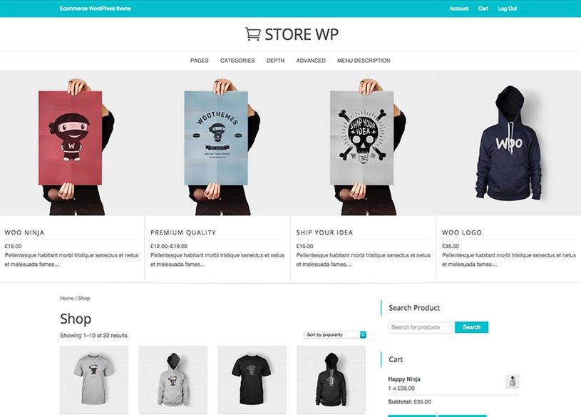 Webshop WordPress